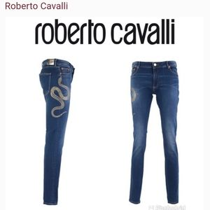 Brand new Roberto Cavalli skinny denim size 40 2 4
